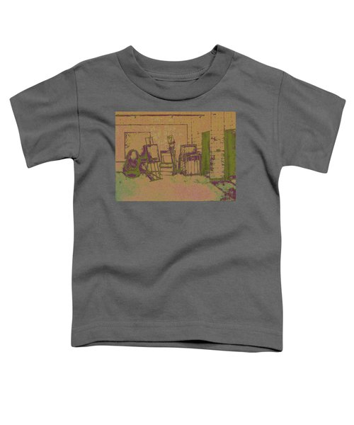 Art Intro Mixed Media Toddler T-Shirt