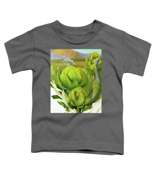 Artichoke  Unfinished Toddler T-Shirt
