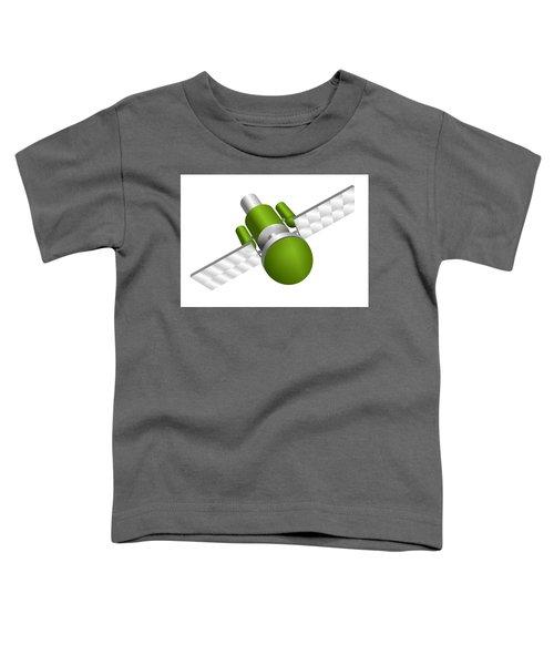 Artificial Satellite Toddler T-Shirt