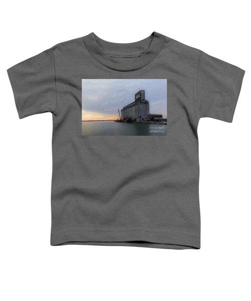 Artistic Sunset Toddler T-Shirt