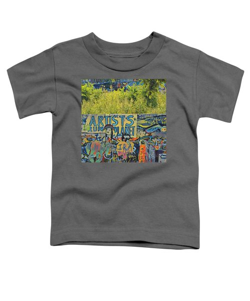 Artists Run The Planet Toddler T-Shirt