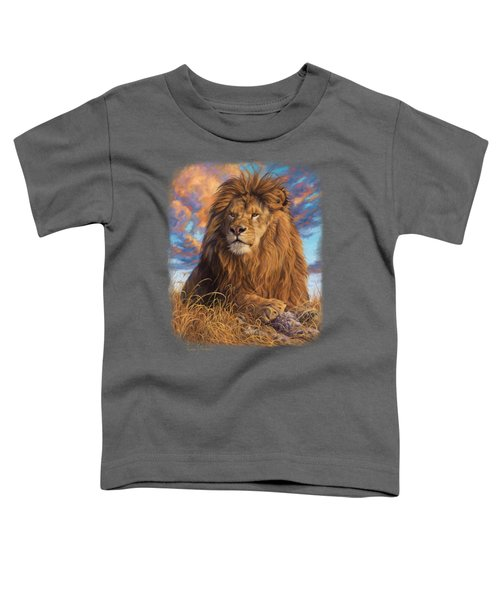 Watchful Eyes Toddler T-Shirt by Lucie Bilodeau