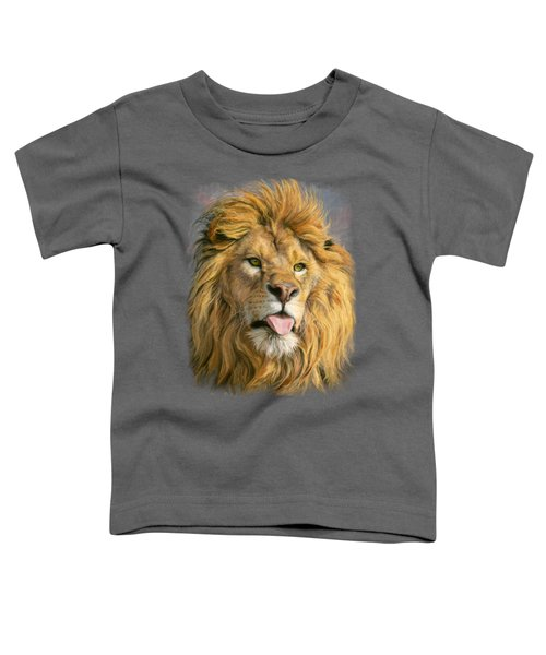 Silly Face Toddler T-Shirt by Lucie Bilodeau