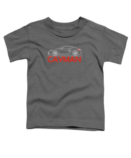 Porsche Cayman Phone Case Toddler T-Shirt