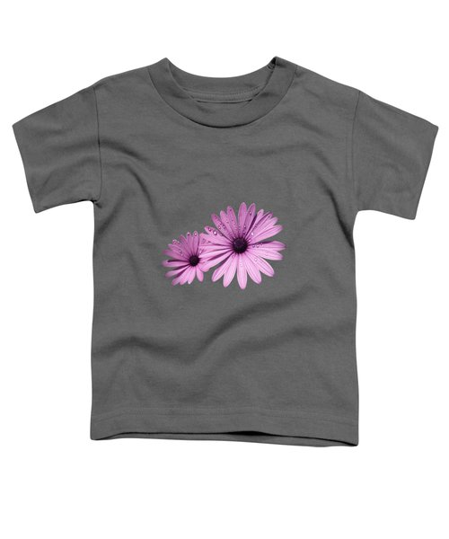 Dew Drops On Daisies Toddler T-Shirt