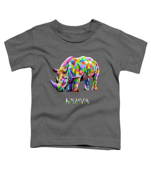 Wild Rainbow Toddler T-Shirt