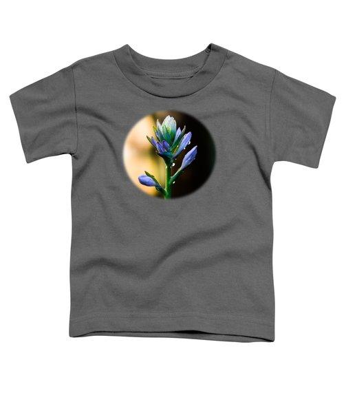 Purple Blooms Toddler T-Shirt
