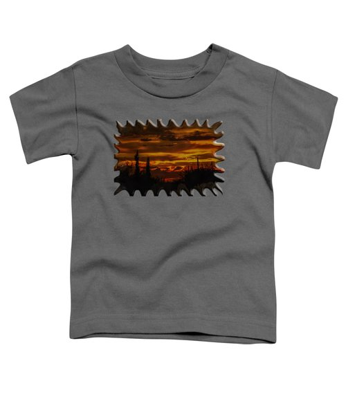Sunset No.16 Toddler T-Shirt by Mark Myhaver