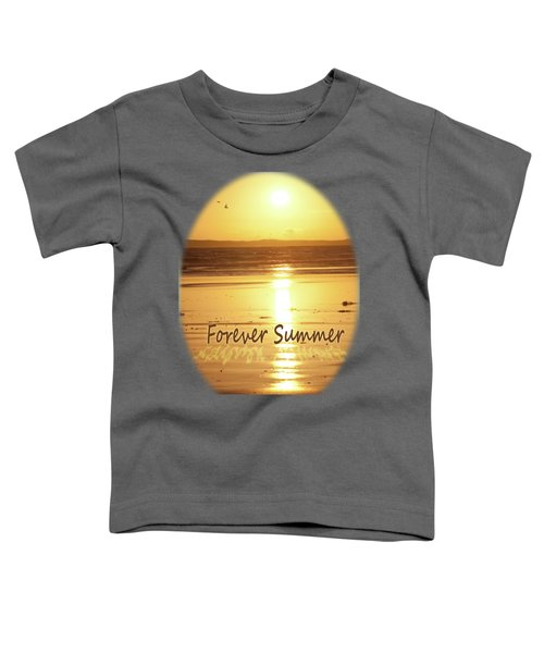 Toddler T-Shirt featuring the photograph Forever Summer 4 by Linda Lees