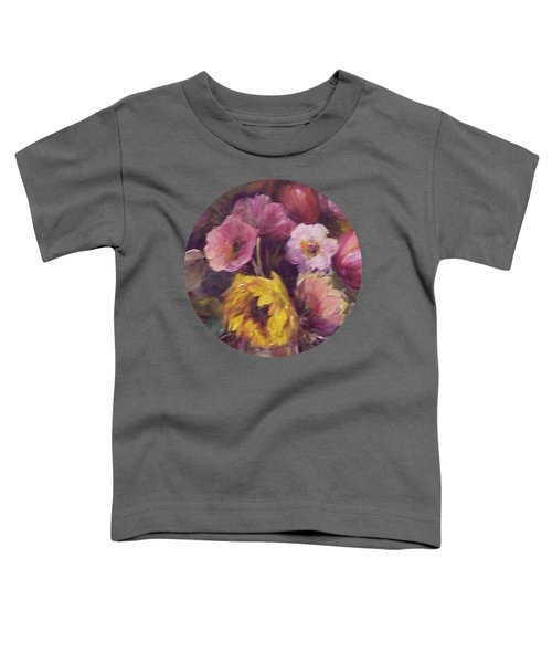 Abundance- Floral Painting Toddler T-Shirt