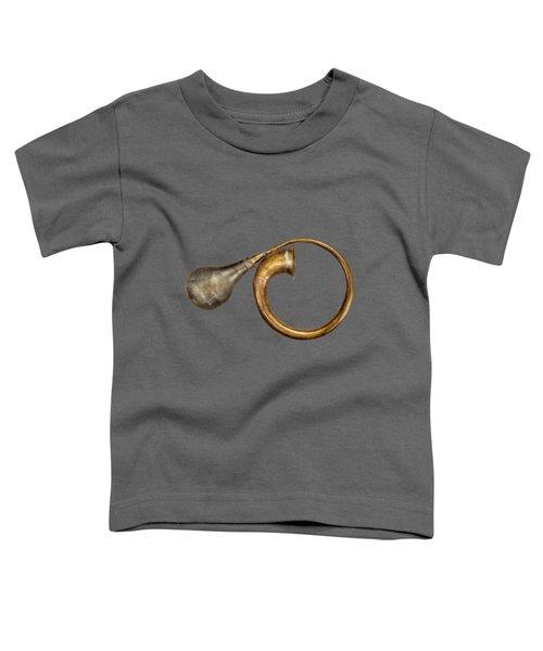 Antique Brass Car Horn Toddler T-Shirt