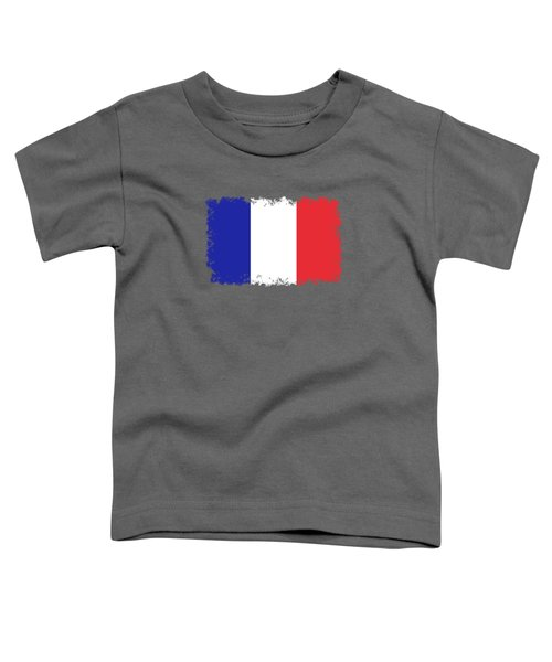 Flag Of France High Quality Authentic Image Toddler T-Shirt
