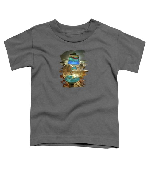 Beach Treasures - Faith Toddler T-Shirt by Thom Zehrfeld
