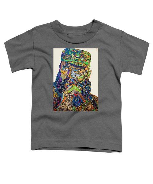 Fidel El Comandante Complejo Toddler T-Shirt