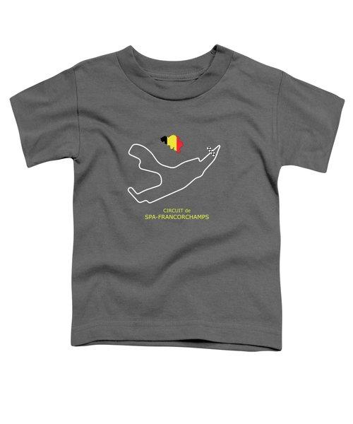 Circuit De Spa-francorchamps Toddler T-Shirt
