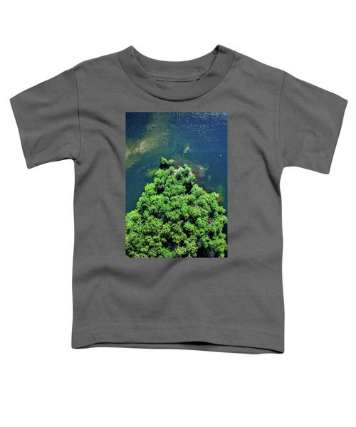 Archipelago Island - Aerial Photography Toddler T-Shirt
