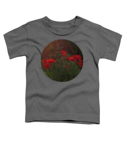 Sunset In The Poppy Garden Toddler T-Shirt