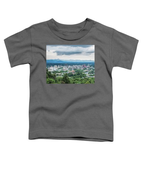Asheville Afternoon Cropped Toddler T-Shirt