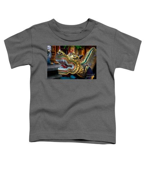 Asian Temple Dragon Toddler T-Shirt