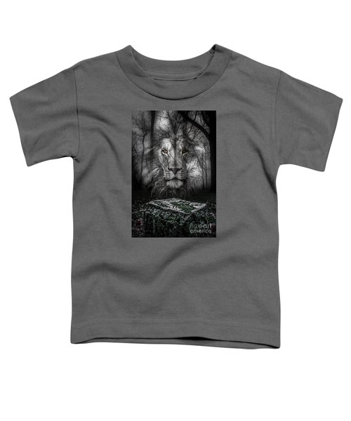 Aslan And The Stone Table Toddler T-Shirt