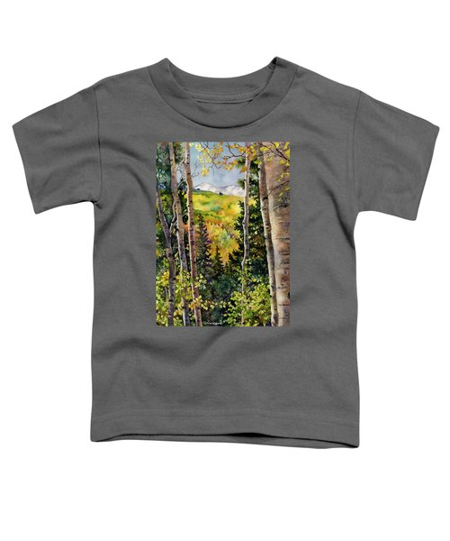 Aspen Afternoon Toddler T-Shirt