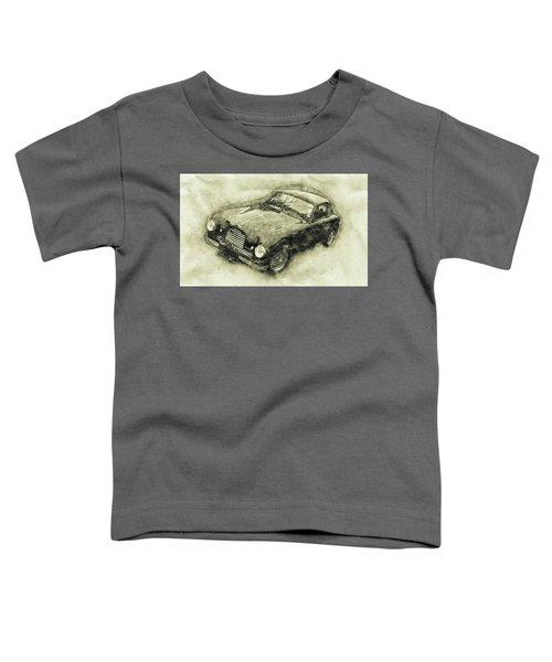 Aston Martin Db2 Gt Zagato - 1950 - Automotive Art - Car Posters Toddler T-Shirt