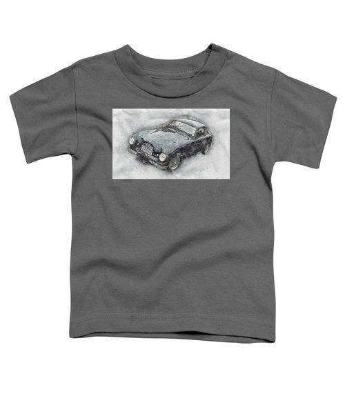 Aston Martin Db2 Gt Zagato 2 - 1950 - Automotive Art - Car Posters Toddler T-Shirt