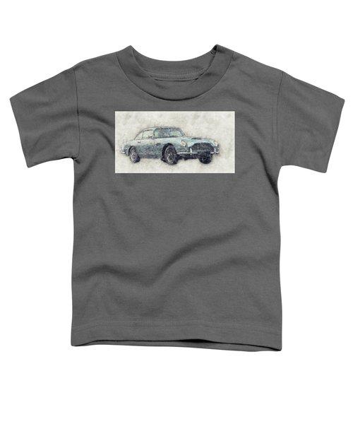 Aston Martin Db5  1- Luxury Grand Tourer - Automotive Art - Car Posters Toddler T-Shirt