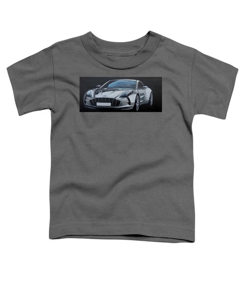 Aston Martin One-77 Toddler T-Shirt
