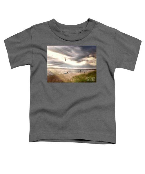 At The Beach Toddler T-Shirt
