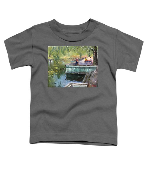 At The Park By The Water Toddler T-Shirt