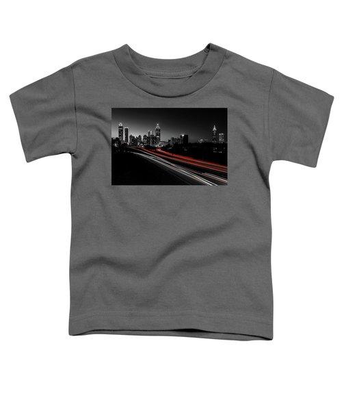 Atlanta Black And White Toddler T-Shirt