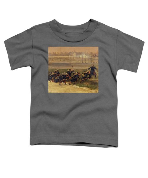 Attack Of A Railroad Track Toddler T-Shirt