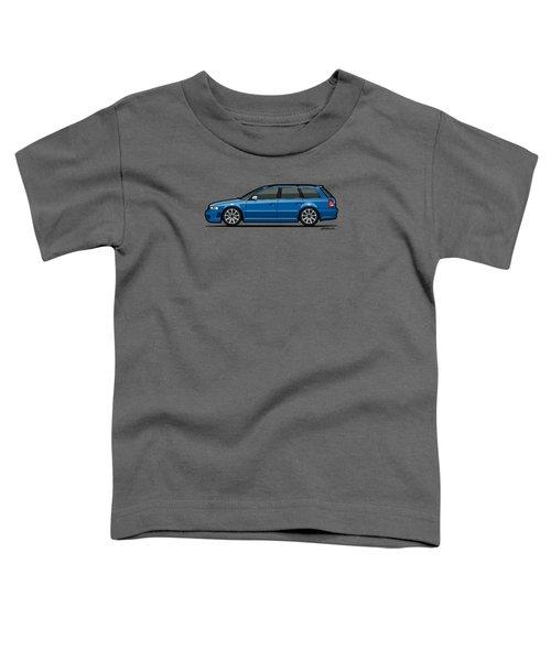 Audi Rs4 A4 Avant Quattro B5 Type 8d Wagon Nogaro Blue Toddler T-Shirt