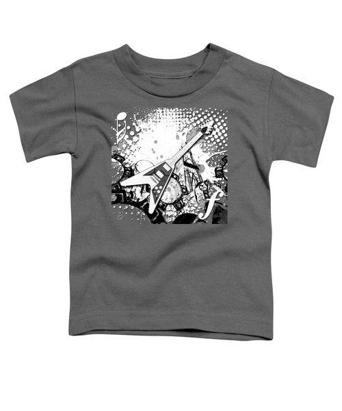 Audio Graphics 3 Toddler T-Shirt