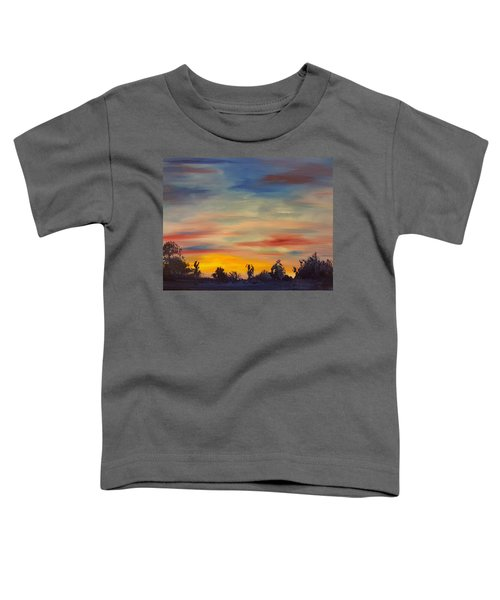 August Sunset In Sw Montana Toddler T-Shirt