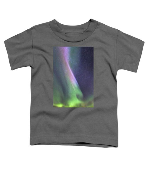 Toddler T-Shirt featuring the photograph Aurora Abstract by Hitendra SINKAR