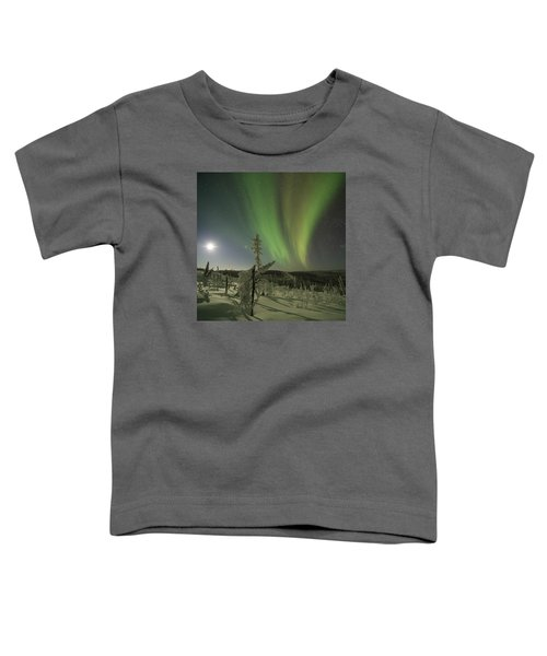 Aurora In The Hoar Frost Toddler T-Shirt