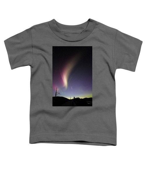 Auroral Phenomonen Known As Steve 2 Toddler T-Shirt
