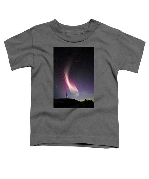 auroral Phenomonen known as Steve 3 Toddler T-Shirt