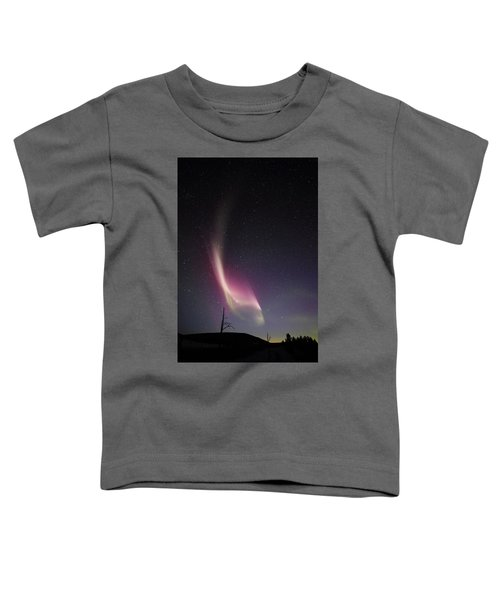 Auroral Phenomonen Knows As Steve, 4 Toddler T-Shirt