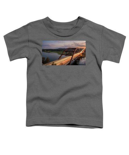 Austin 360 Bridge At Night Toddler T-Shirt