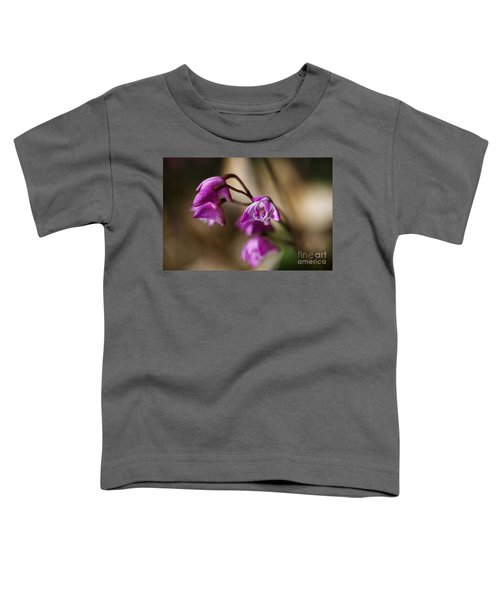 Australia's Native Orchid Small Dendrobium Toddler T-Shirt