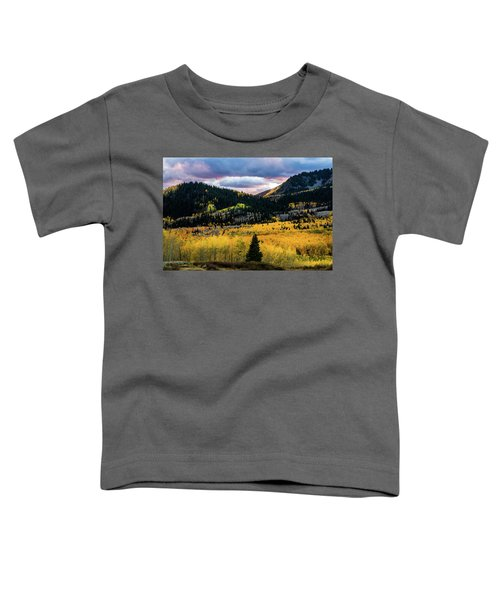 Autumn At Guardsman Pass Toddler T-Shirt