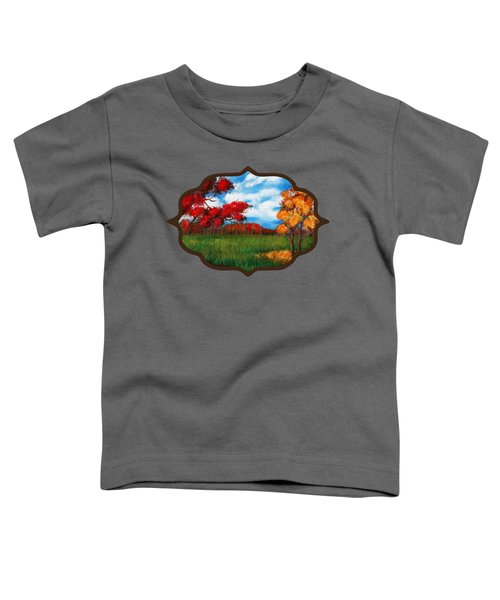 Autumn Colors Toddler T-Shirt