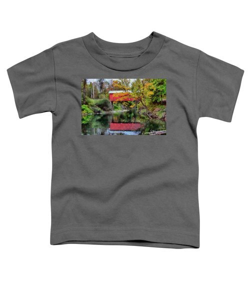 Autumn Colors Over Slaughterhouse. Toddler T-Shirt