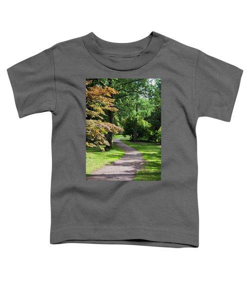 Autumn Forest Path Toddler T-Shirt