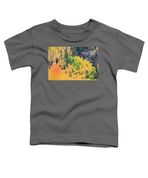 Toddler T-Shirt featuring the photograph Autumn Glory by David Chandler