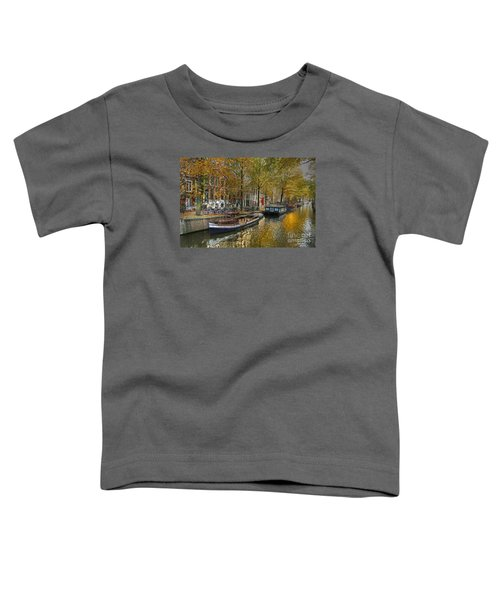Autumn In Amsterdam Toddler T-Shirt