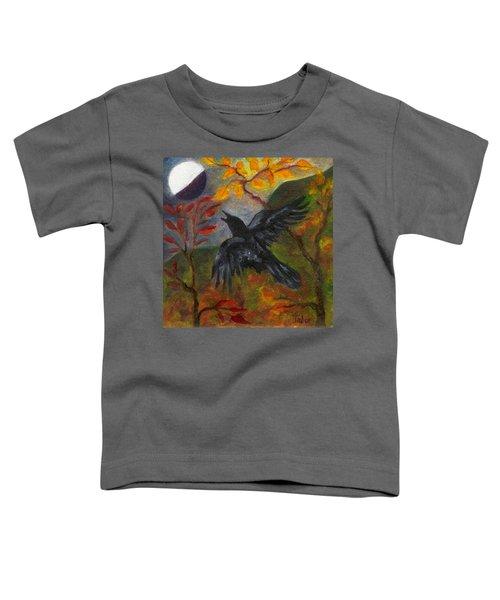 Autumn Moon Raven Toddler T-Shirt
